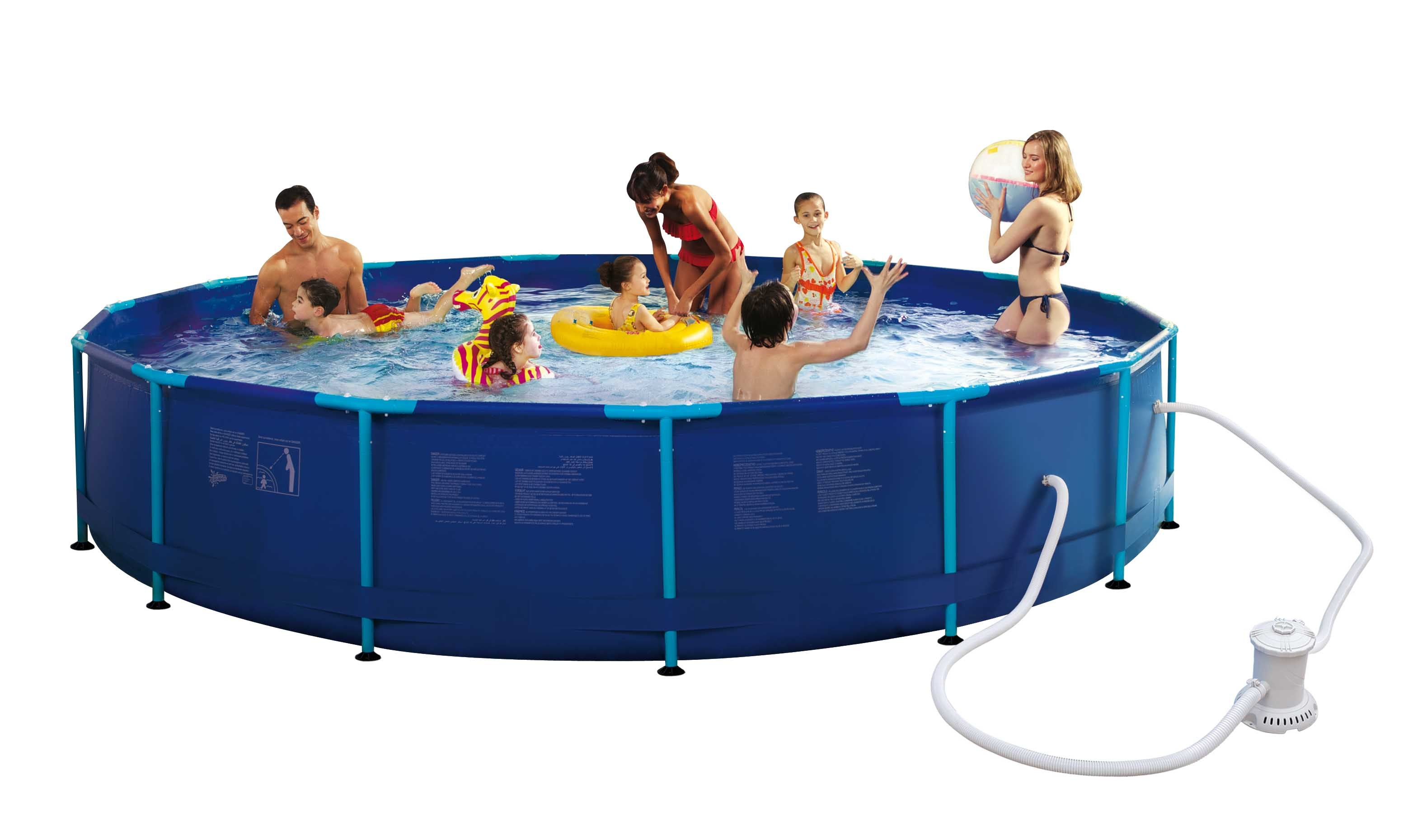 Carrefour piscine tubulaire ronde hawai 457 x h 83 for Carrefour piscine tubulaire